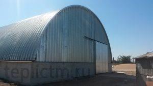 Строительство зернохранилищ в Крыму