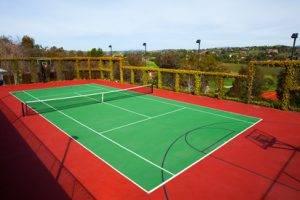 Cтроительство теннисных кортов в Крыму