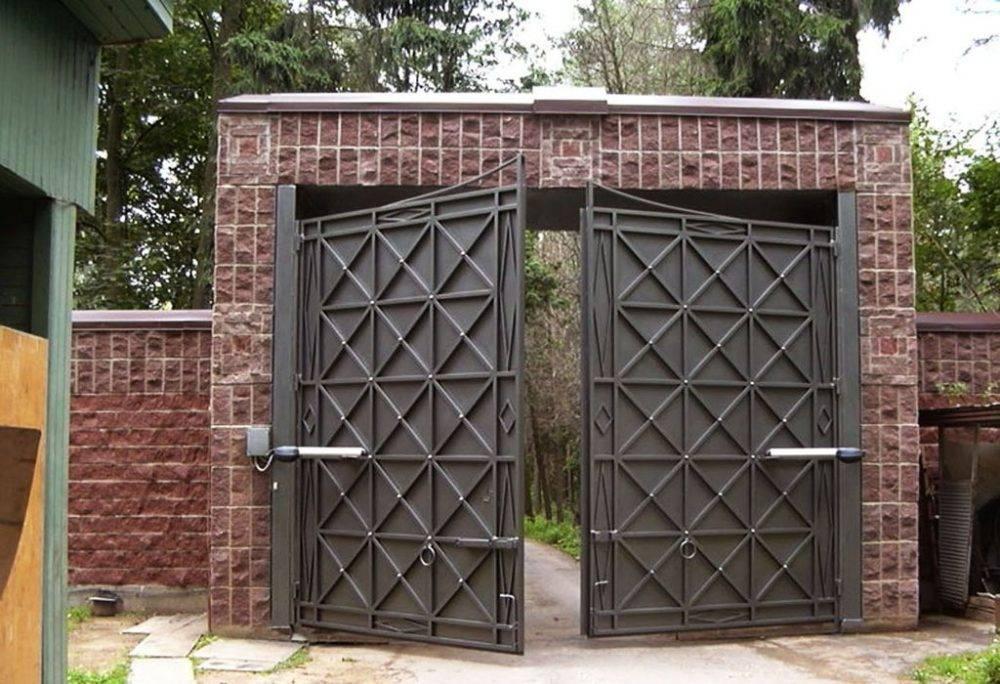 Заказать распашные ворота