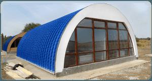 Строительство ангаров в Крыму