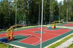 строительство спортивных площадок