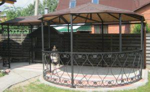 Металлоконструкции в Симферополе для дачи
