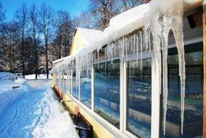 Зимняя теплица и её особенности