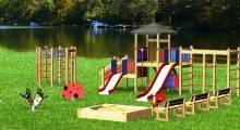 Строительство детских площадок в Крыму